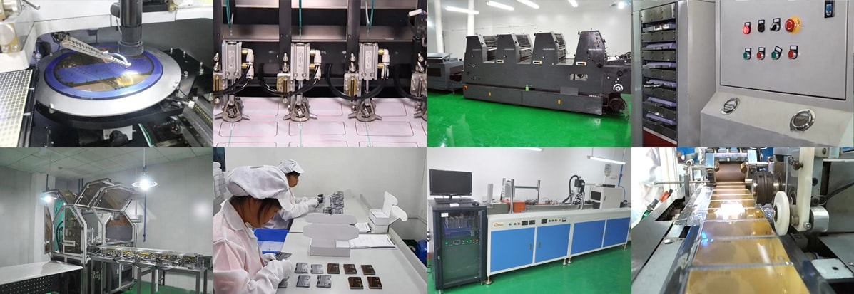 eco RFID Tags Advanced Automated Manufacturing Machines